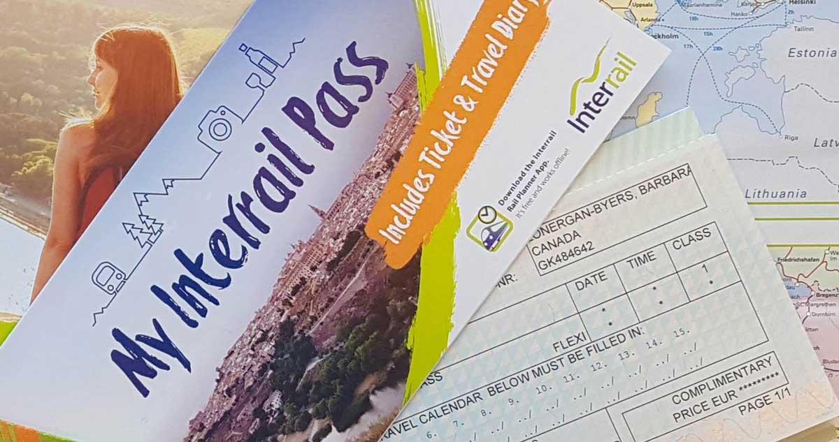 Das Interrail Ticket bekommst du am Bahnhof oder online