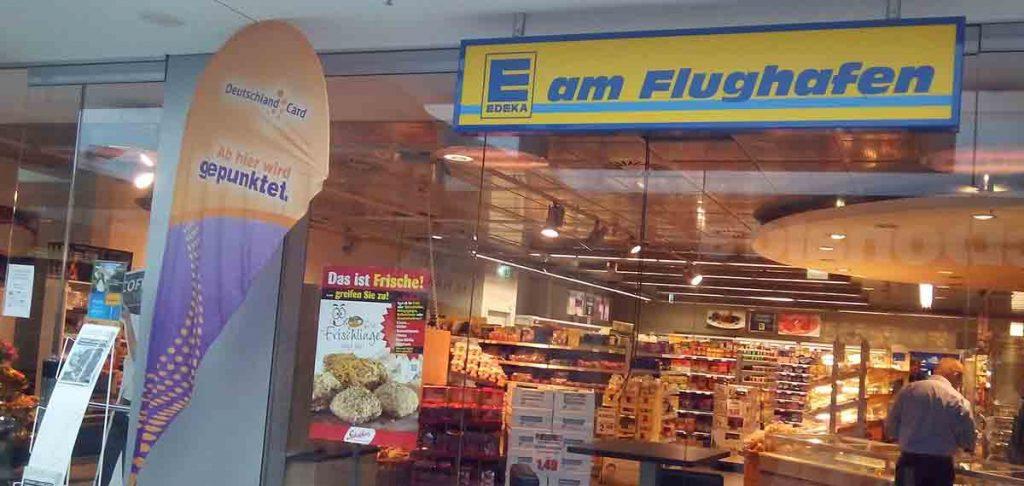 Edeka Supermarkt am Flughafen Hannover Reise Hacks