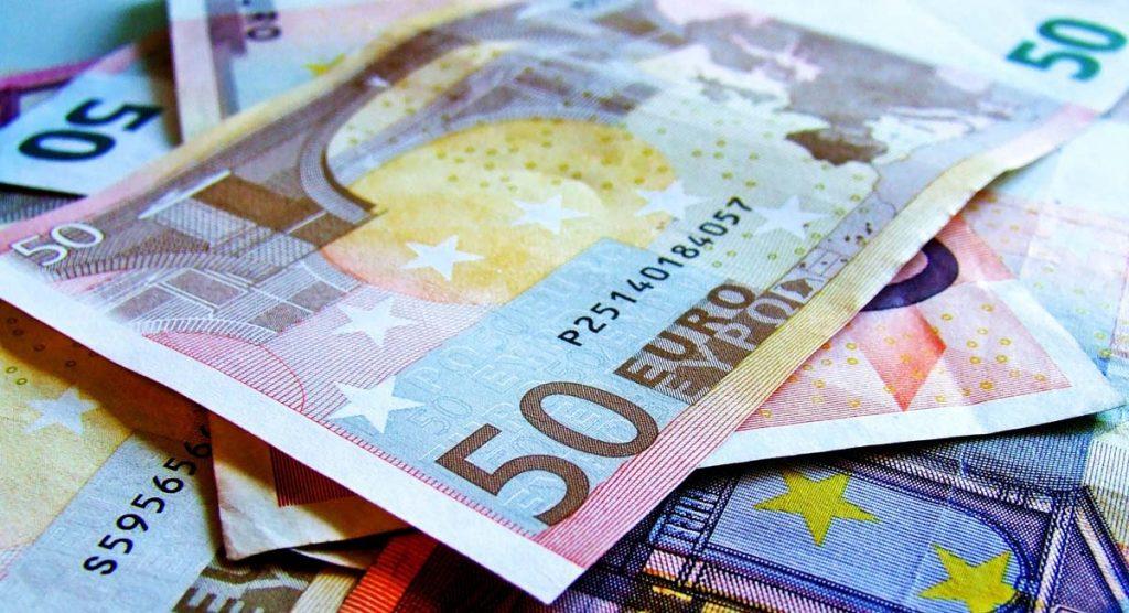 Euro Banknoten im Europ aPodcast