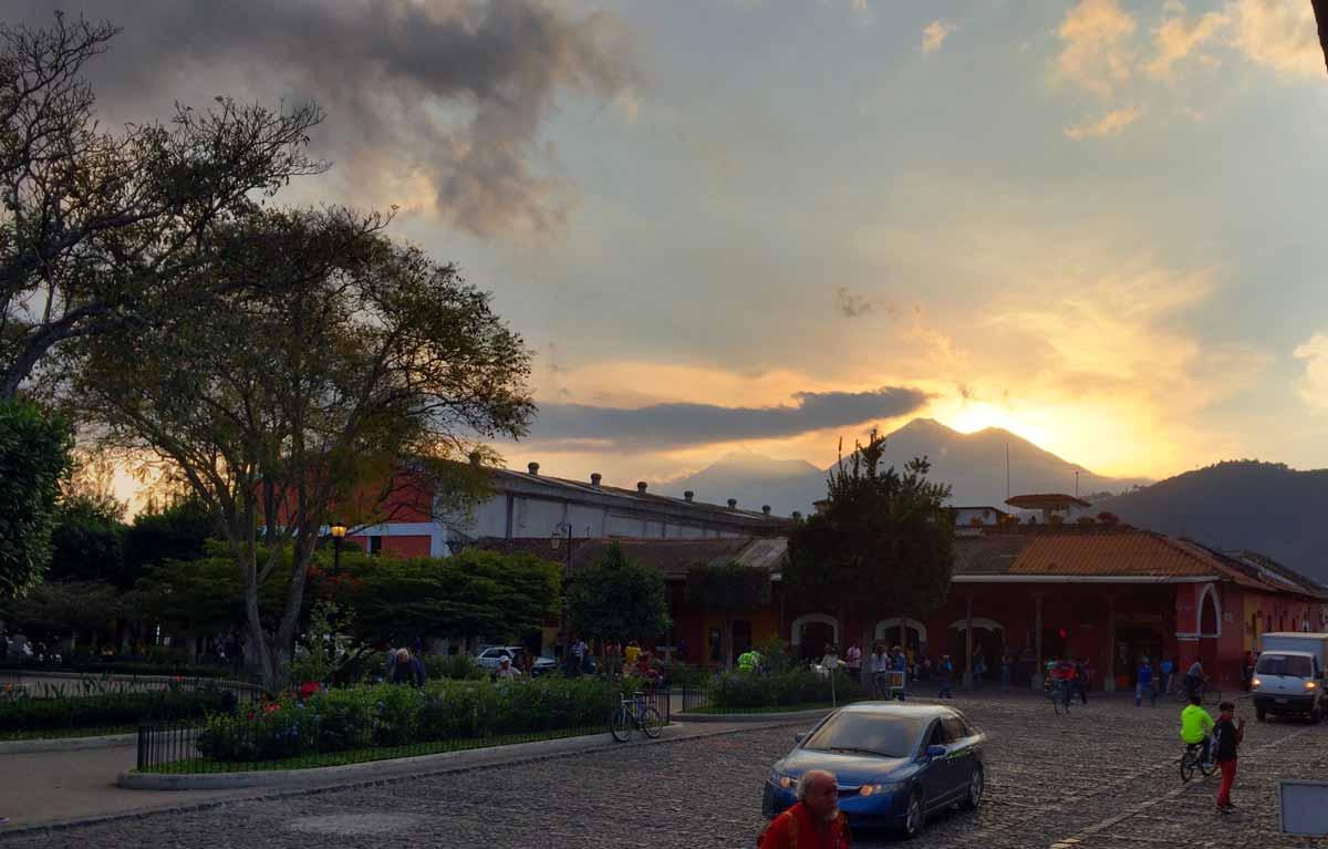 Guatemala Podcast Antigua - Welttournee der Reisepodcast