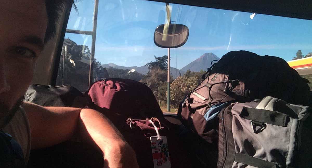 Guatemala Podcast - Christoph Streicher im Bus nach Lanquin