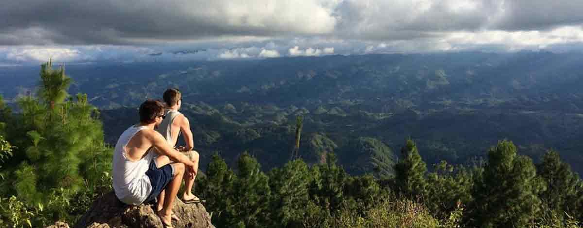 Adrian und Christoph in Guatemala