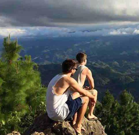 Adrian und Christoph vom Reisepodcast in Guatemala