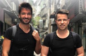 Christoph und Adrian in Macau