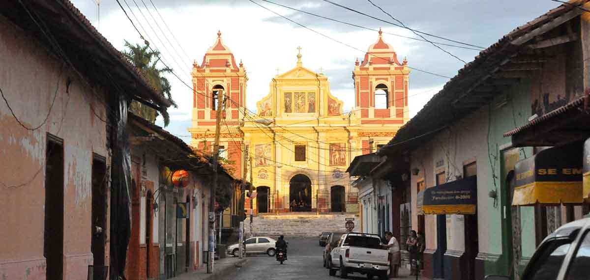Die Studentenstadt Leon in Nicaragua