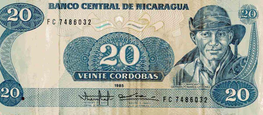 Der Córdoba Oro - die Währung in Nicaragua.