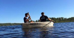 Norwegen Podcast - Christoph und Adrian im Boot