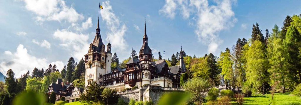 Draculas Schloß im Rumänien Podcast