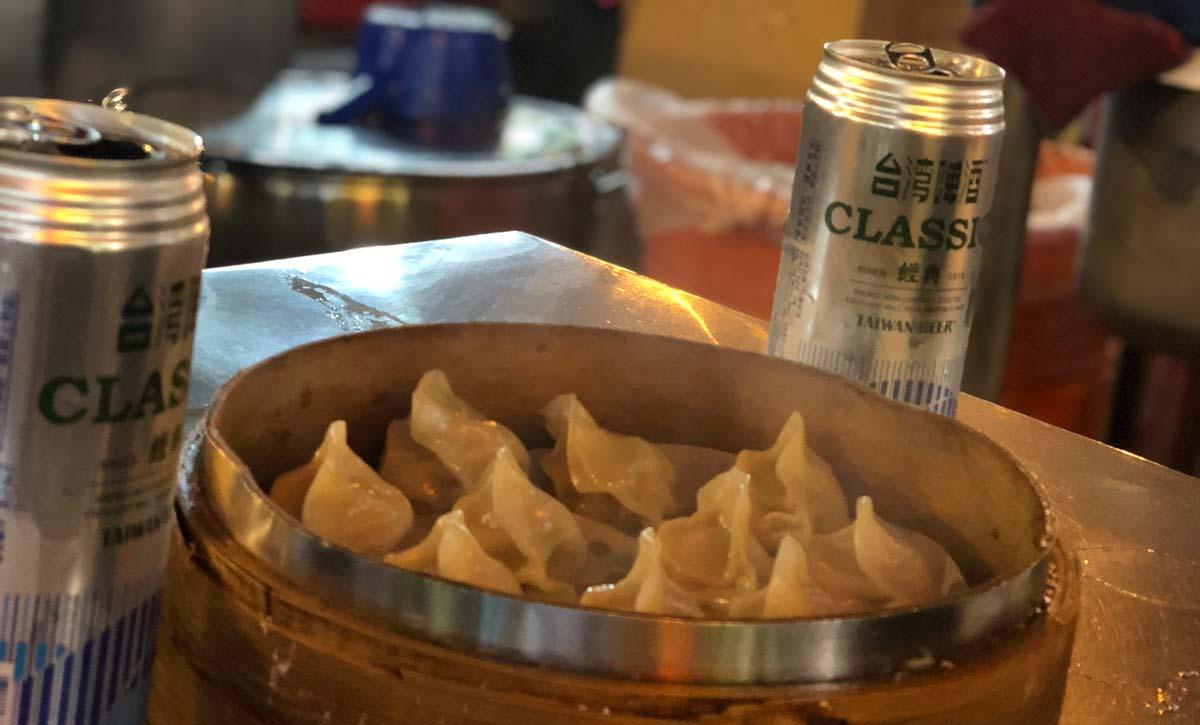 Taiwan Podcast - Dumplings auf dem Nachtmarkt