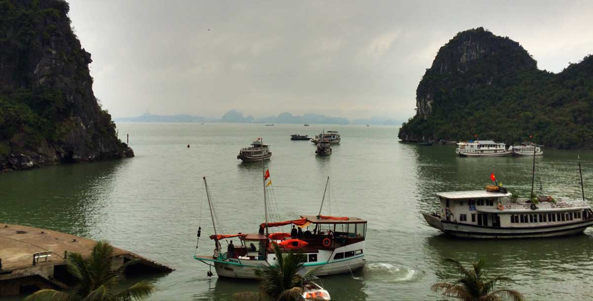 Vietnam Podcast Halong Bucht
