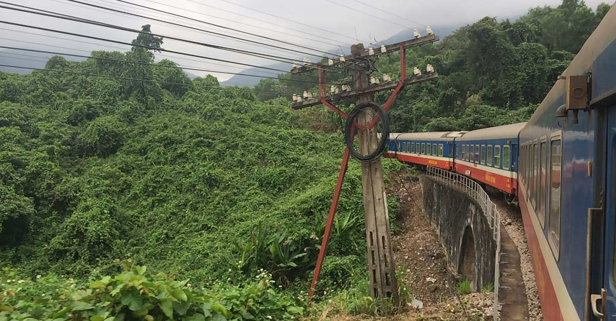 Vietnam Podcast Zug über den Wolkenpass
