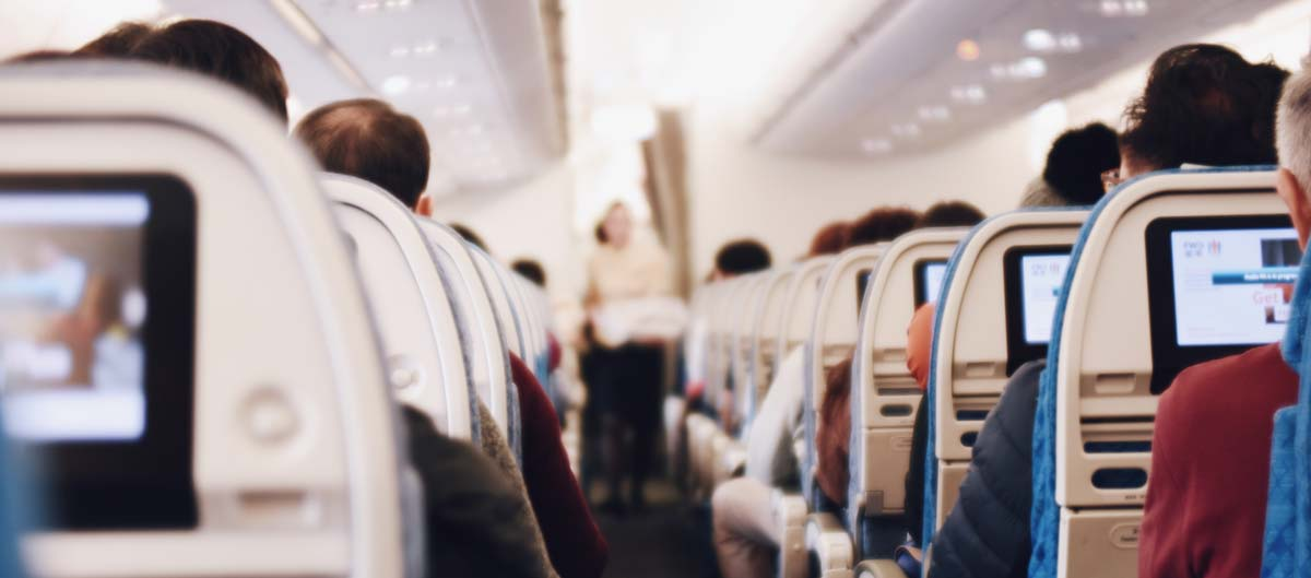 Kabine im Flugzeug Lifehacks