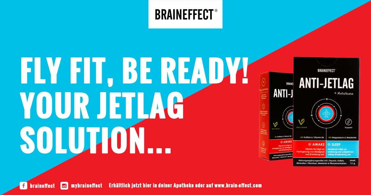 Flugzeug Lifehack Werbung von BRAINEFFECT