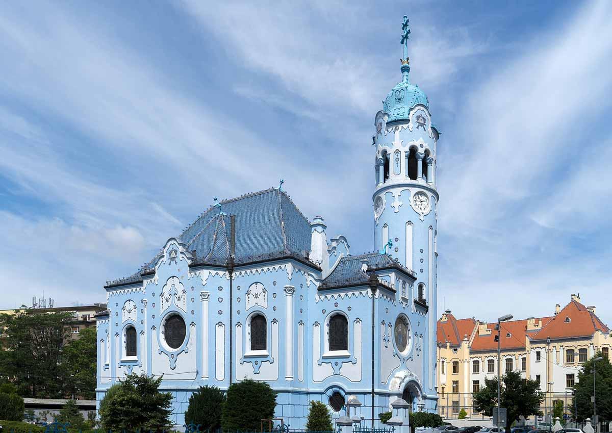 Blaue-Kirche-in-Bratislaa