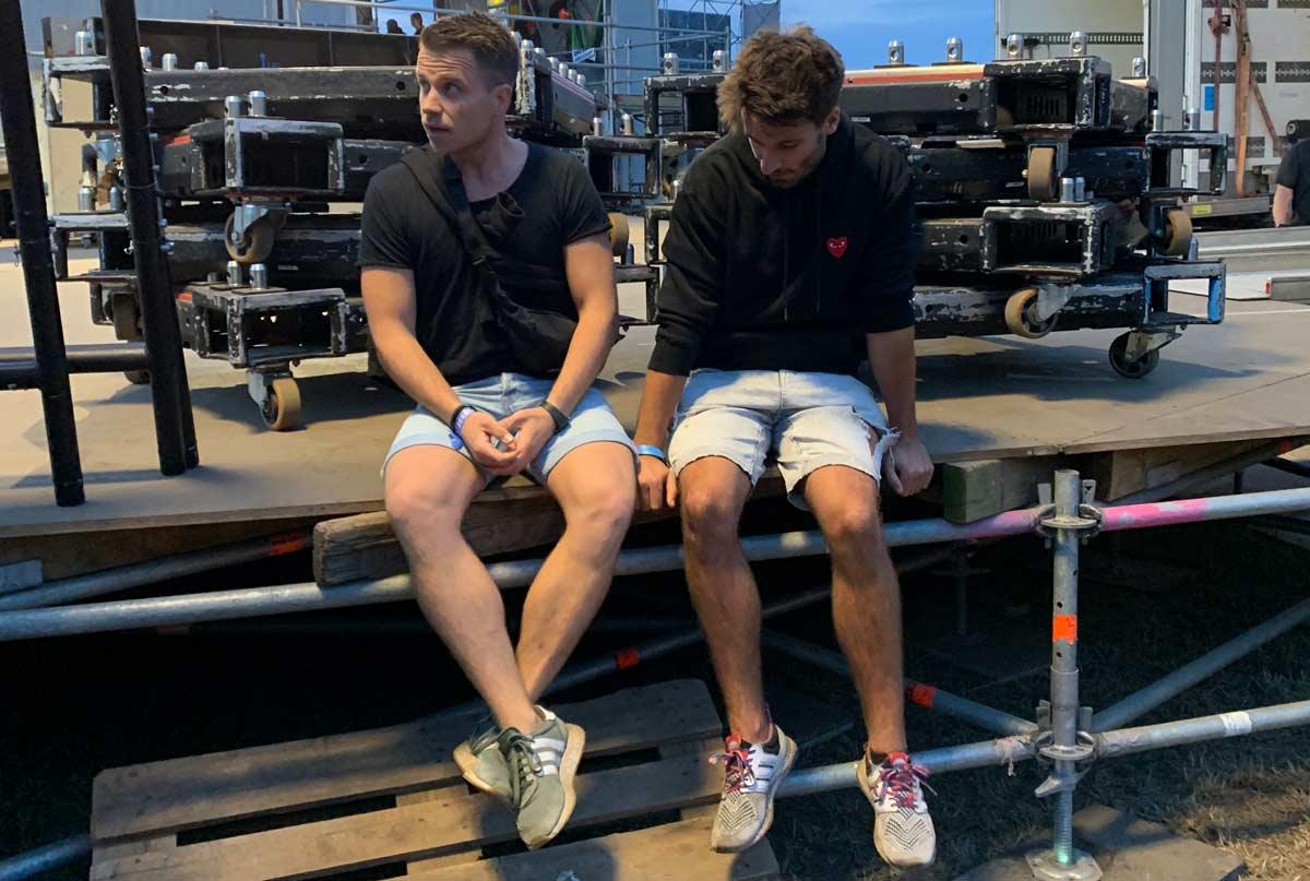 Live Podcast - Adrian und Christoph auf Welttournee