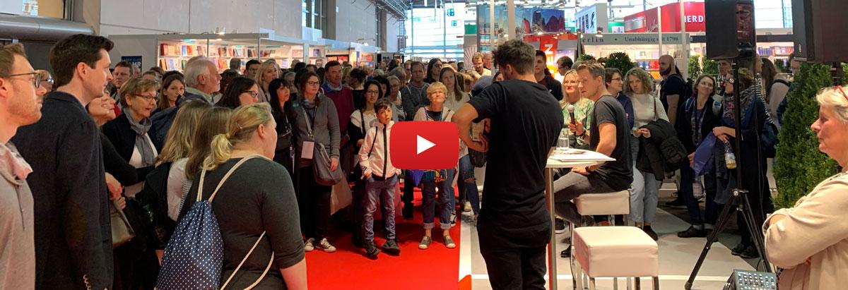 Der Reisepodcast live auf der Buchmesse 2019