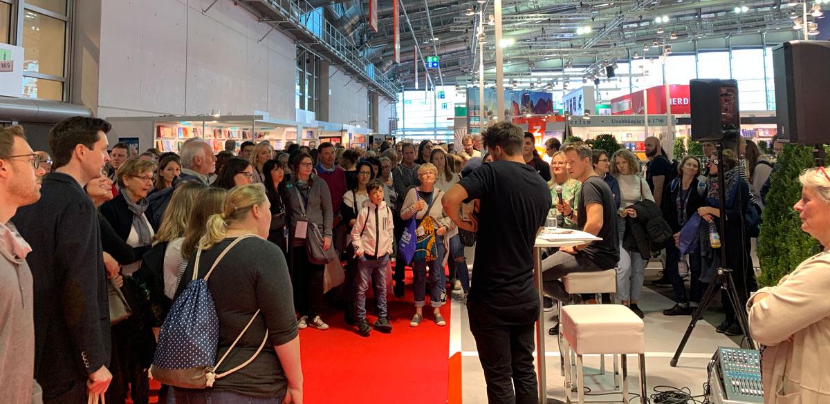 Der Reisepodcast auf der Buchmesse in Frankfurt 2019