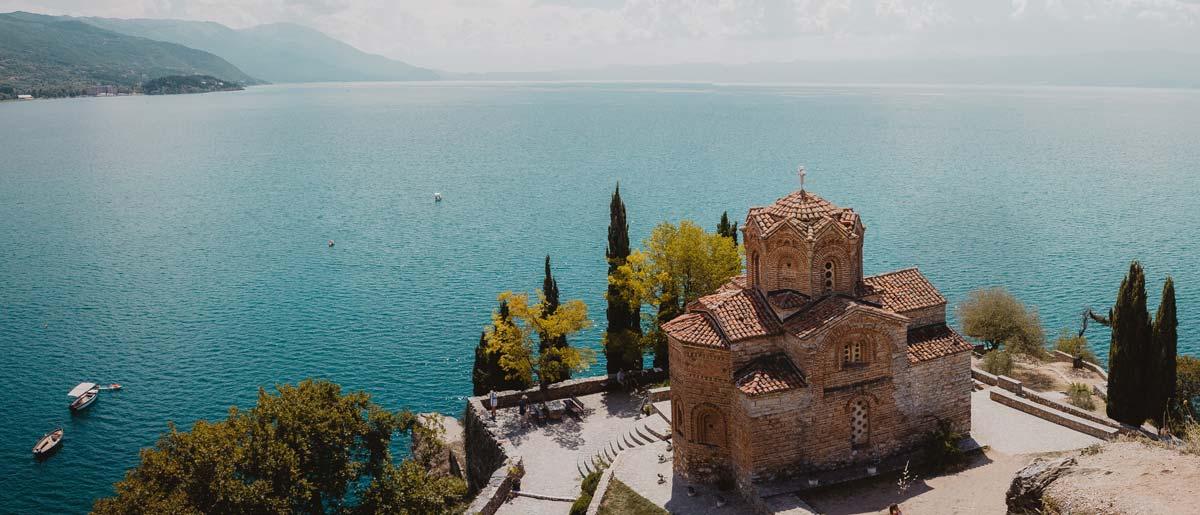 Ohrid See im Reisepodcast über die Reisetrends 2020