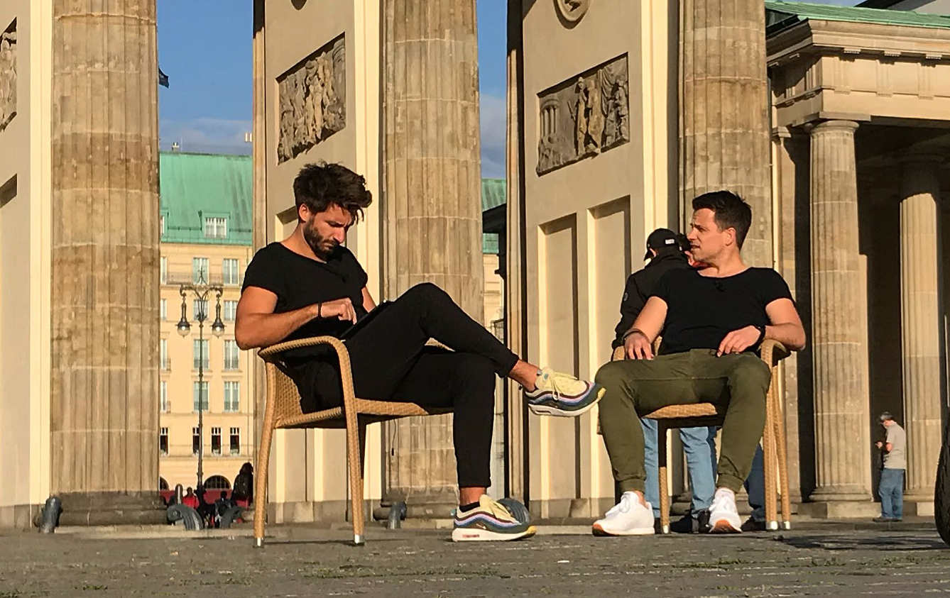 Berlin Podcast Welttournee