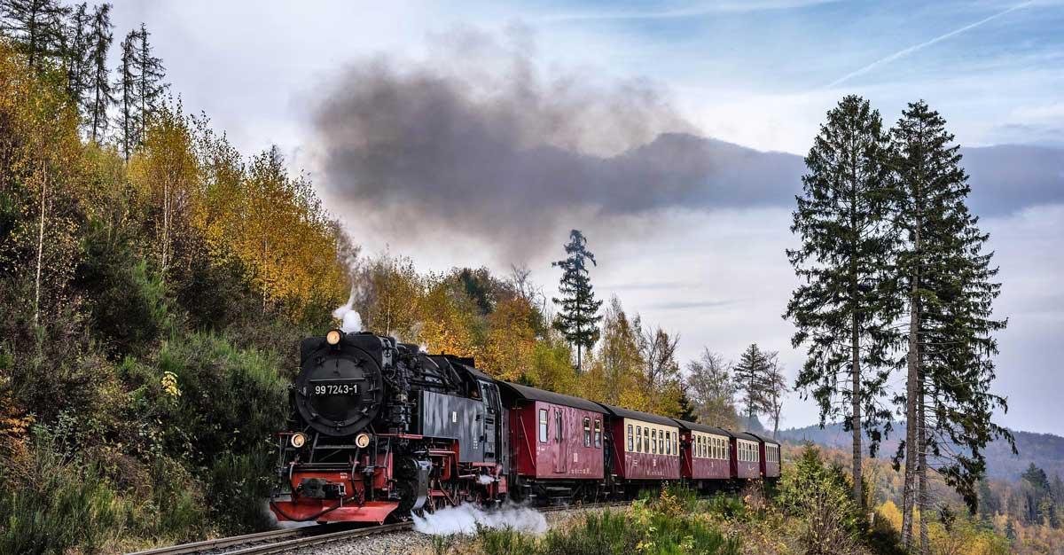 Die Brockenbahn - ein Highlight an geschichtsträchtiger Stelle