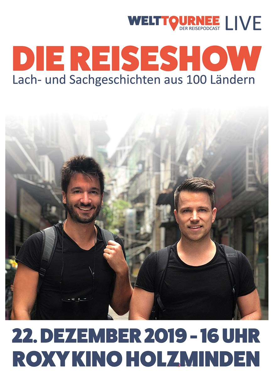 Der Live Podcast im Kino Holzminden