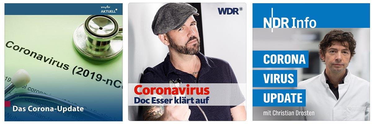 Die besten Corona Podcasts