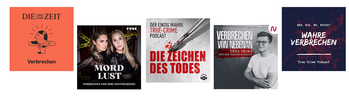 Die besten True Crime Podcasts