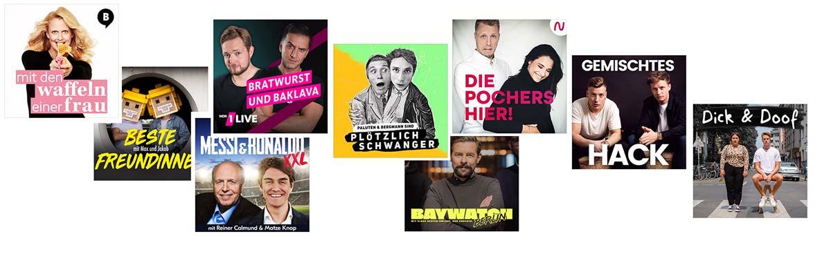 Der beste Comedy Podcast aus dem Charts