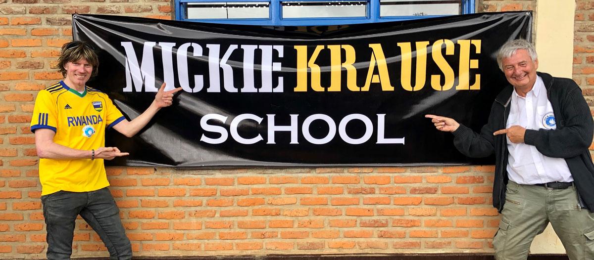 Mickie Krause Ruanda Podcast