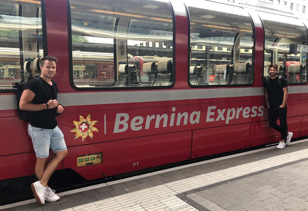 Reisepodcast Bernina Express