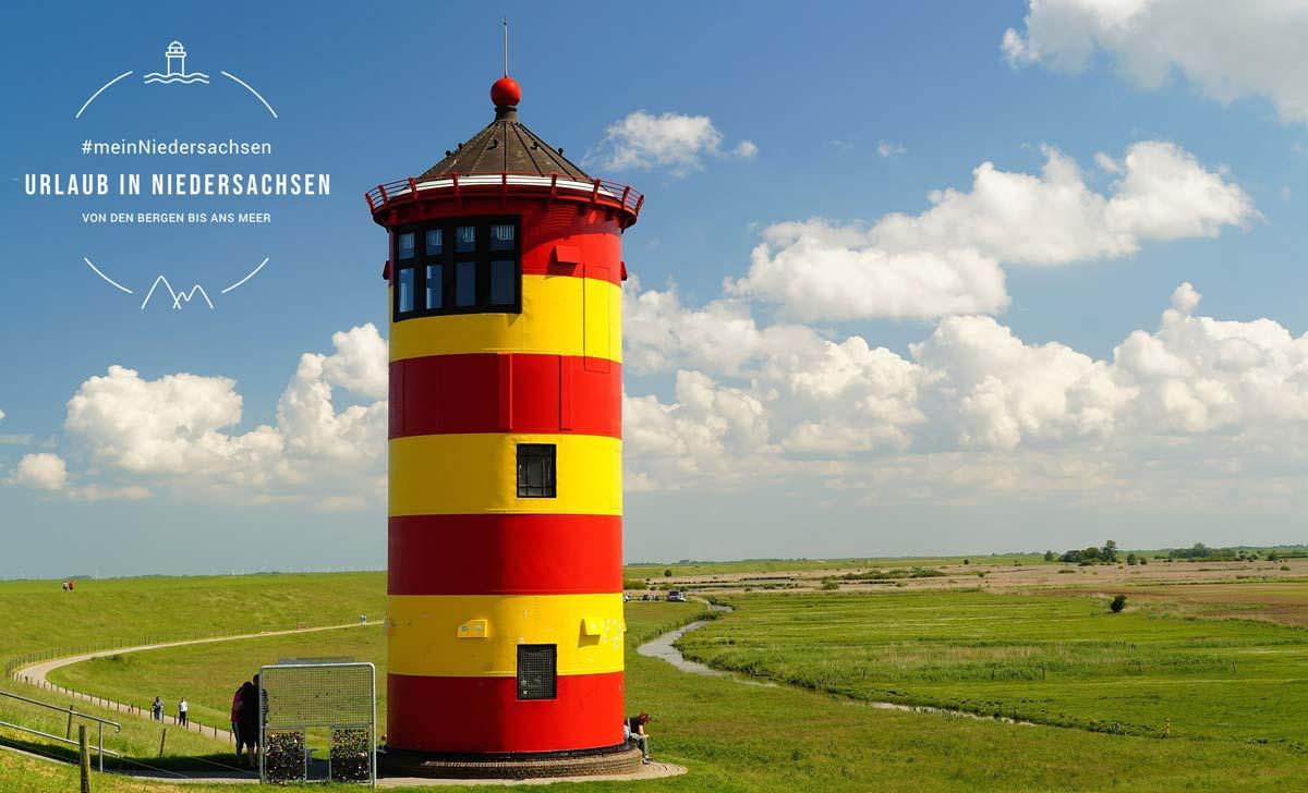 Leuchtturm im Niedersachsen Reise