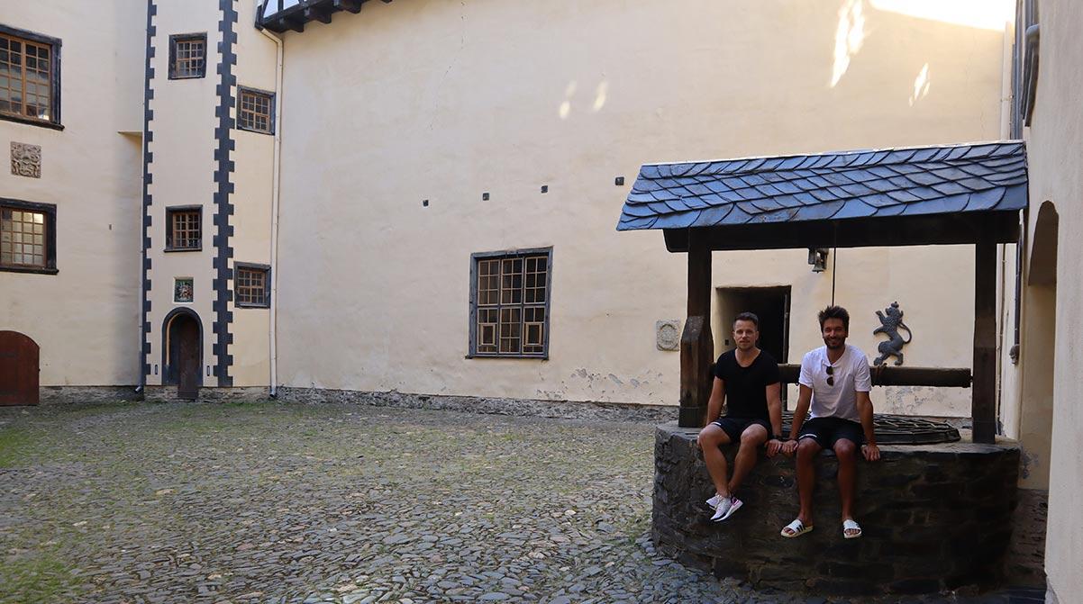 Schloss Burgk im Thüringen Podcast