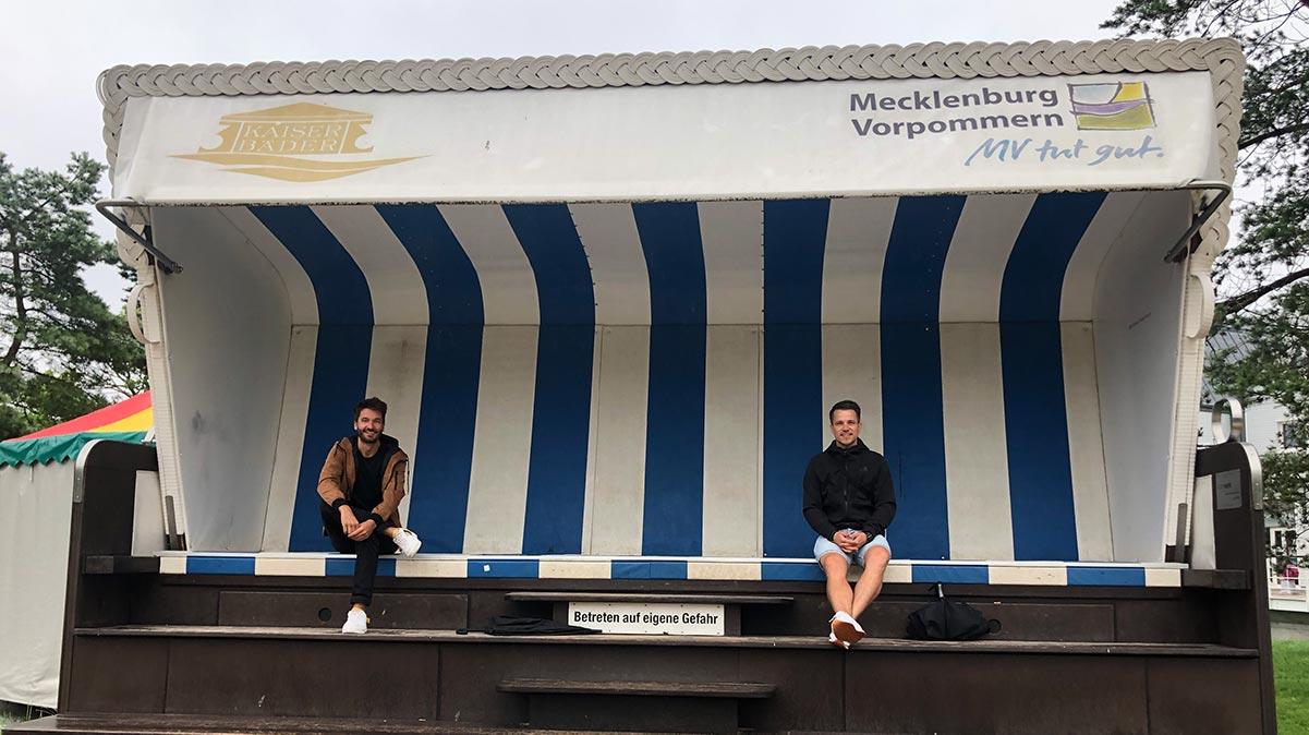 Usedom Podcast - größter Standkorb der Welt