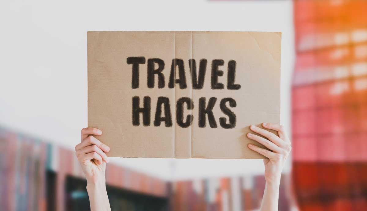 Reisetricks und Lifehacks für die Reise