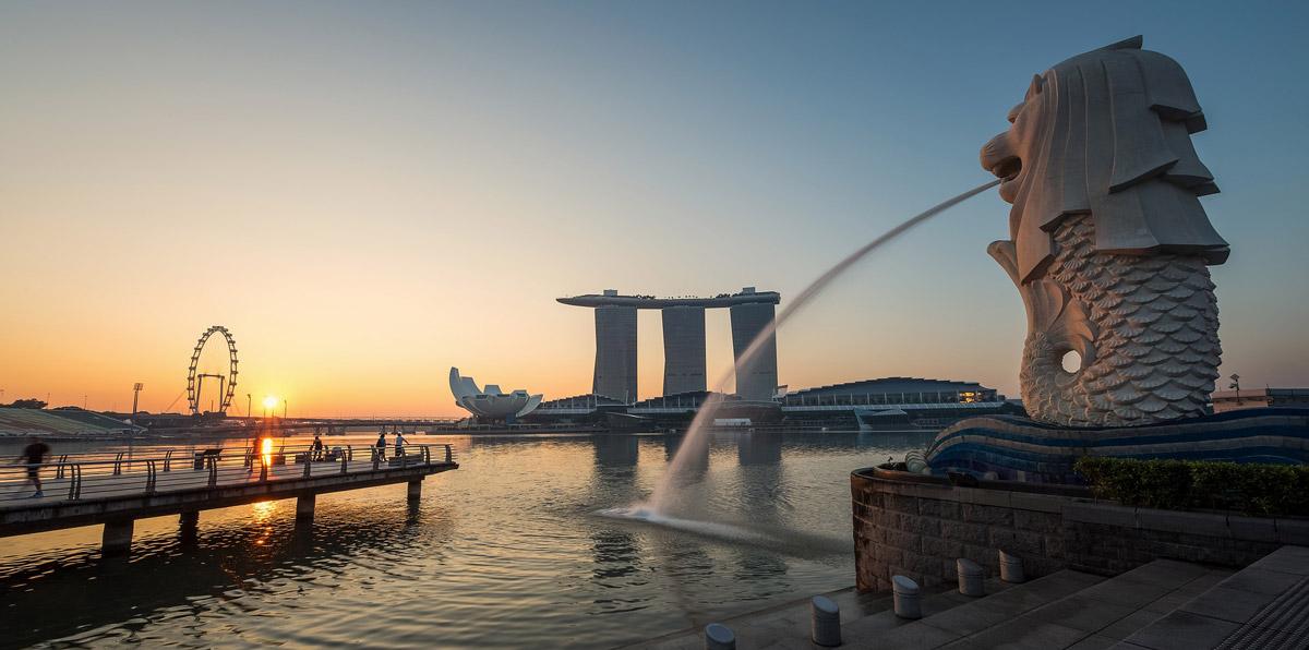 Der Singapur Podcast Welttournee aus Asien