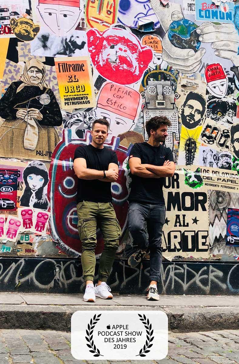 Der Reisepodcast mit Adrian und Christoph
