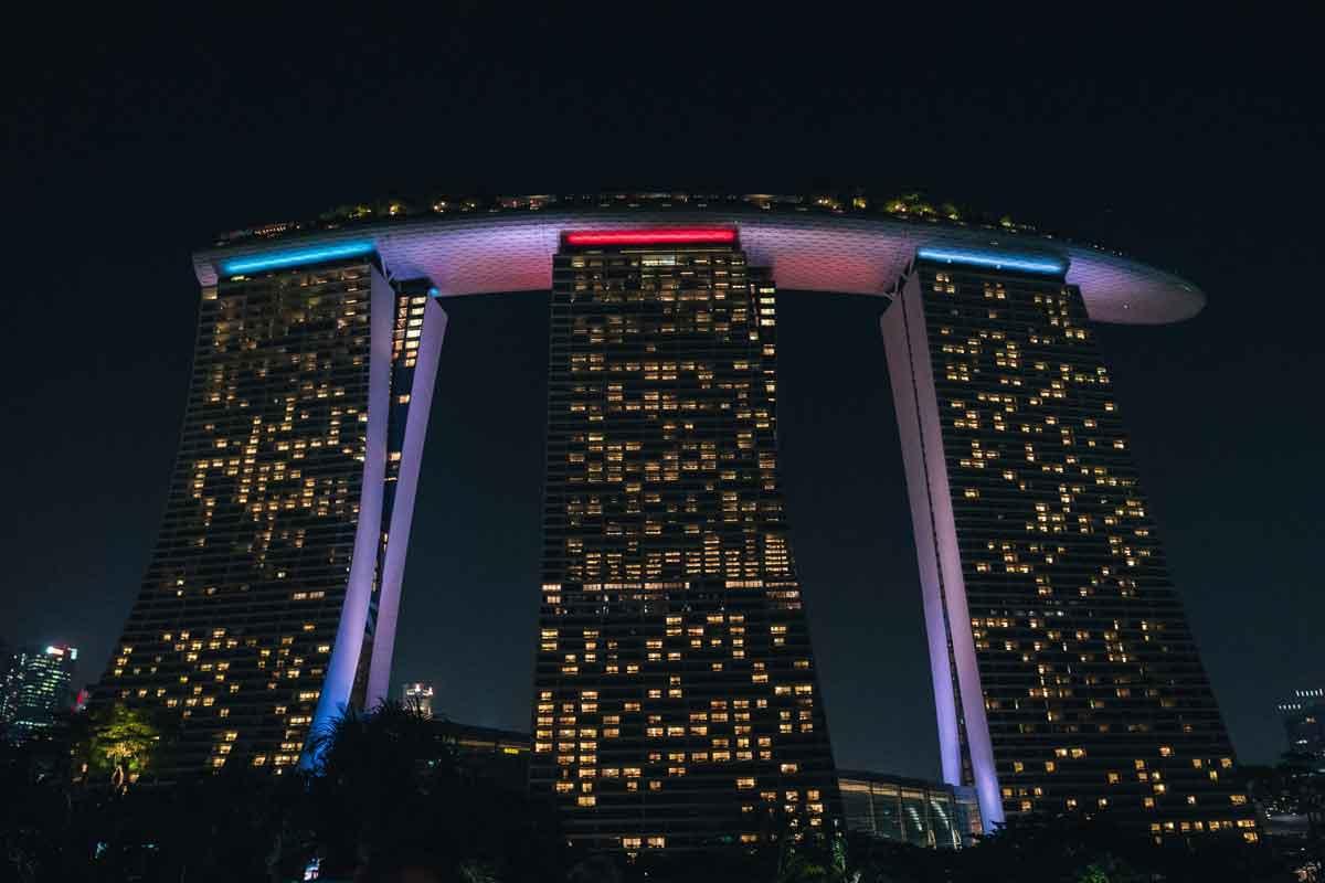 Singapur Podcast - das Hotel Marina Bay Sands